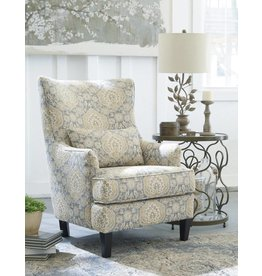 Signature Design Aramore Accent Chair- Fog Traditional 1280522