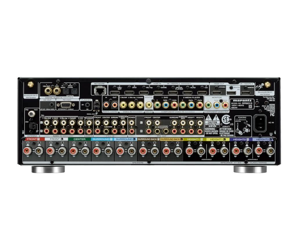Marantz Marantz SR6014 9.2CH 4k Ultra HD AV Receiver with HEOS Built-in
