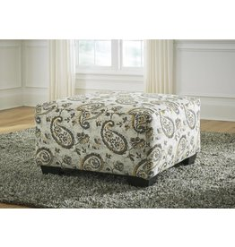 Benchcraft Renchen- Oversized Accent Ottoman- Brindle 4140408
