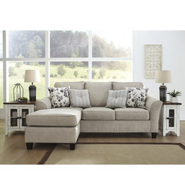 Signature Design Abney- Sofa Chaise- Driftwood- 4970118