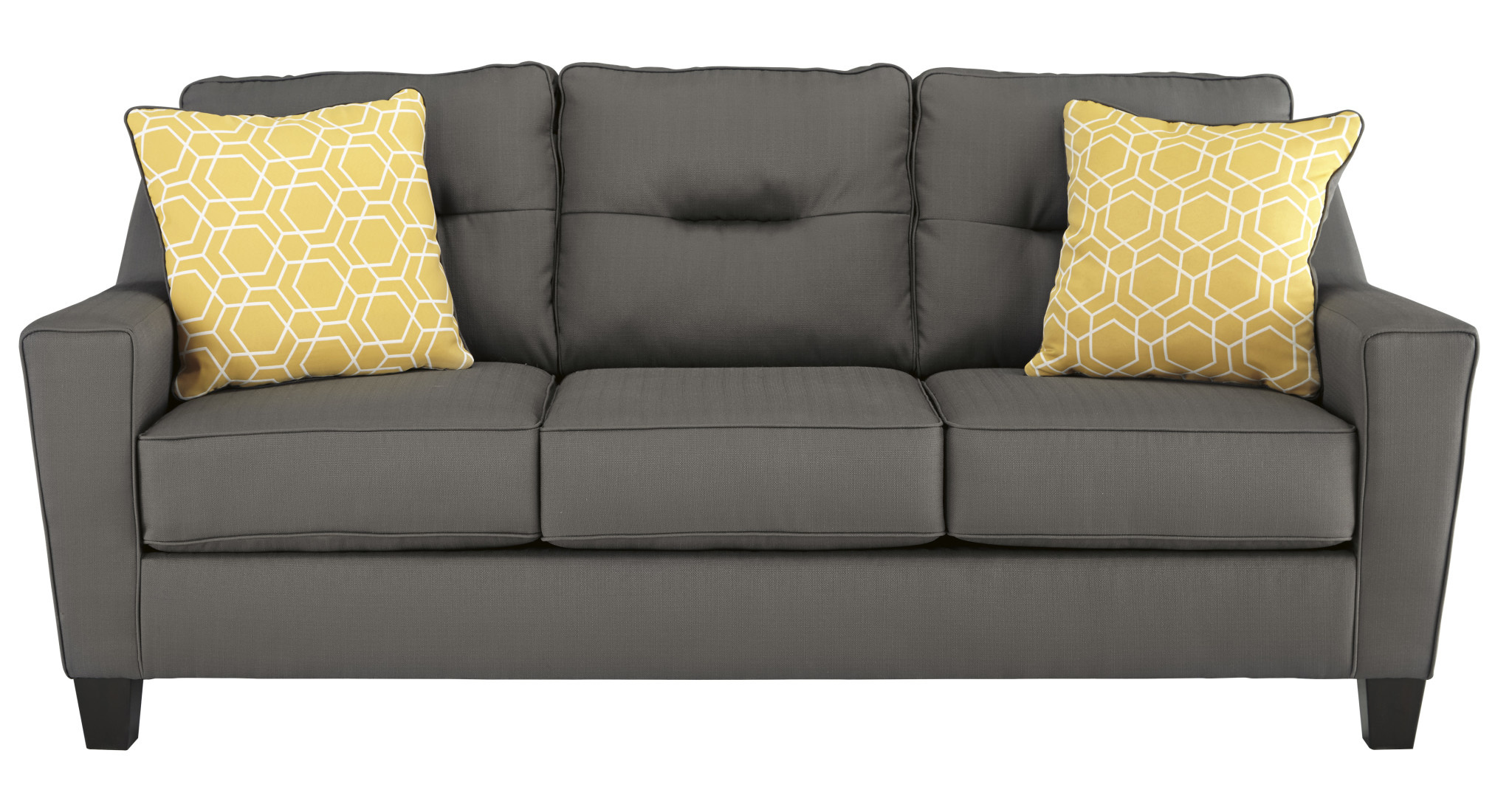 Benchcraft Forsan Nuvella Sofa- Gray 6690238