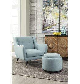 Benchcraft Menga- Accent Chair- Teal A3000034