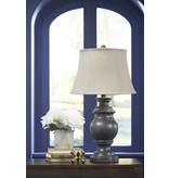 Signature Design Leonadra Antique Black Table Lamp