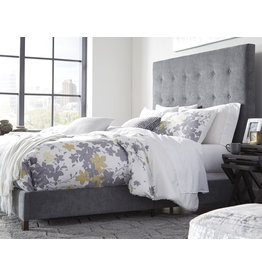 Signature Design KING GRAY (new) B130-882 Dolante Upholstered Beds