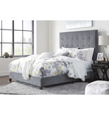 Signature Design GRAY (new) B130-881 Dolante QUEEN Upholstered Bedframe