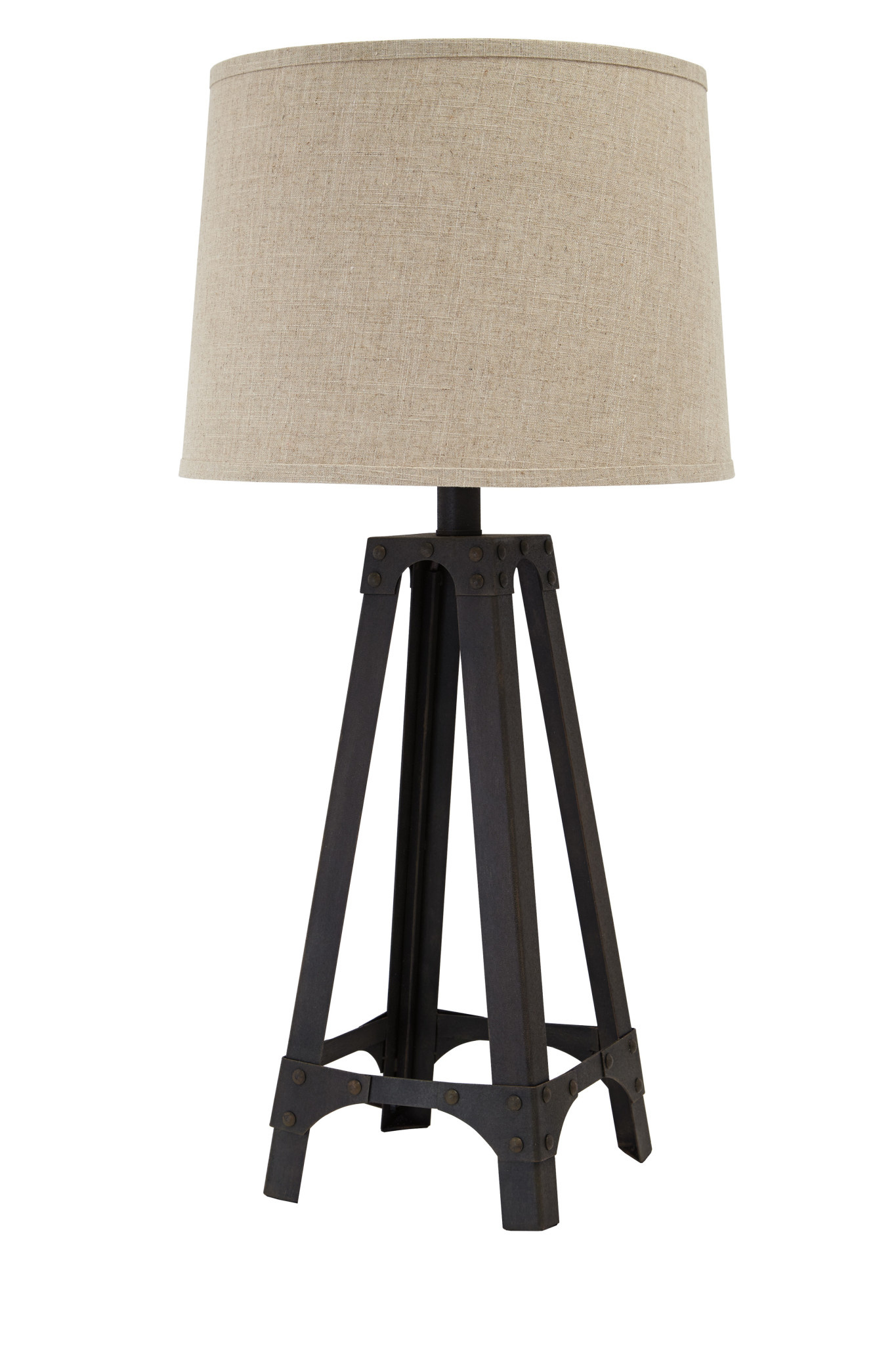 Signature Design METAL TABLE LAMP (1/CN)- Satchel- Brown L207984