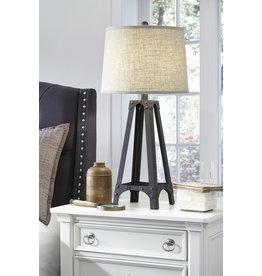 Signature Design METAL TABLE LAMP (1/CN)- Satchel- Brown L207984
