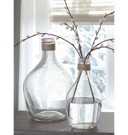 Signature Design Vase Set of 2- Marcin- Clear