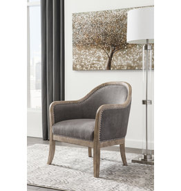 Signature Design Accent Chair- Engineer- Grayish Brown- A3000030