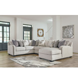 Signature Design Dellara Sectional- 4 piece 32101, 34, 77, 17, 55