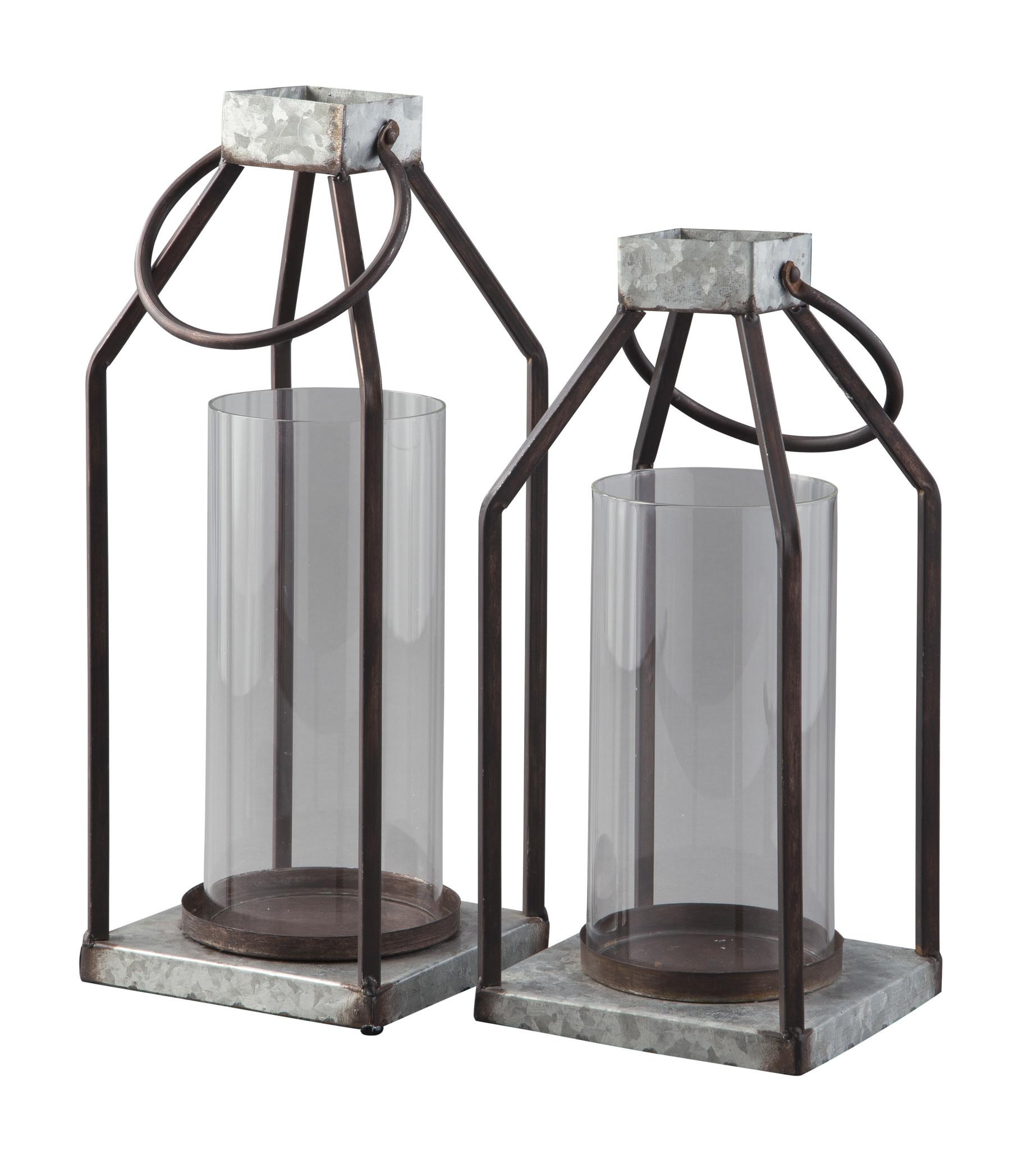 Signature Design Diedrick Lantern Set of 2 A2000346