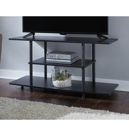 """Benchcraft Cooperson- 42"""" Black, Contemporary TV Stand W380-118"""