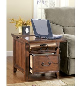 Signature Design MEDIA END TABLE- Woodboro- T478-17