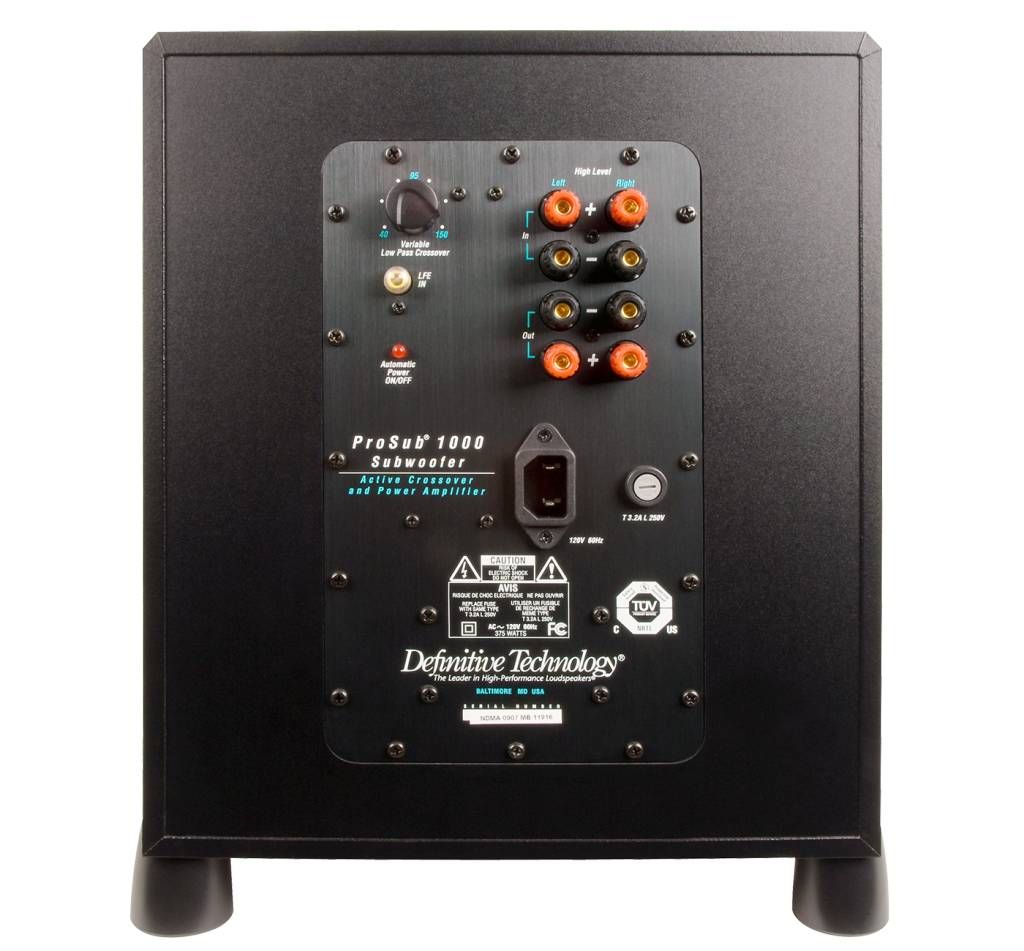 Definitive Technology Def Tech ProSub 1000