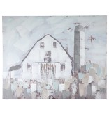 Signature Design Jumana- Blue/Gray/White Wall Art Farmhouse A8000221