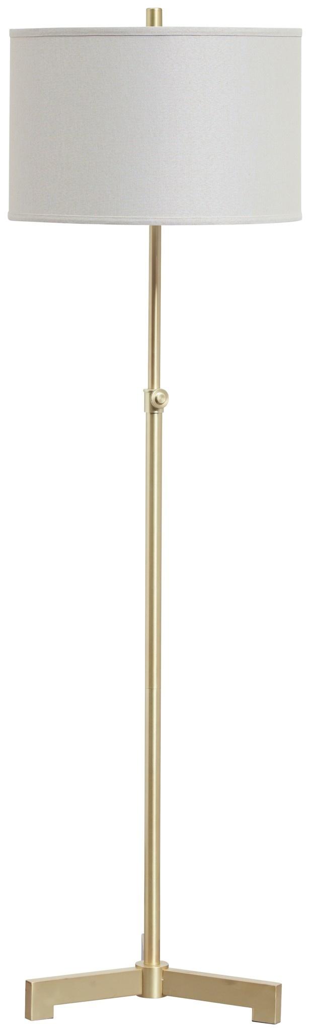 Signature Design Laurinda- Antique Brass Floor Lamp L734281