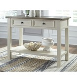 Signature Design Bolanburg Two Tone Sofa Table- T637-4
