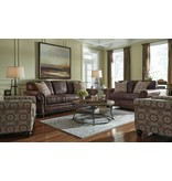 Signature Design Breville, Sofa, Espresso 8000338