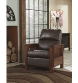Signature Design High Leg Recliner, Santa Fe, Chocolate 1990026