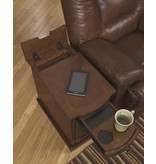 Signature Design Laflorn, Chairside End Table, Medium Brown T127-565