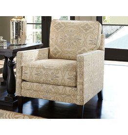Signature Design Cloverfield- ACCENT CHAIR- Fawn- 2790121