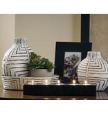 Signature Design 5 Piece Accessory Set- Casimir- Black and White-A2C00123