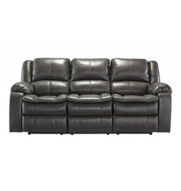 Signature Design Long Knight, Reclining Powered Sofa, Gray 8890687