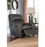 Signature Design Lottie Dura-Blend, Rocker Recliner, Slate 3800125