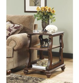 Signature Design DISCONTINUED:  Shelton, Chairside End Table, Dark Brown T489-7
