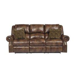 Signature Design Walworth, Reclining Power Sofa, Auburn U7800187