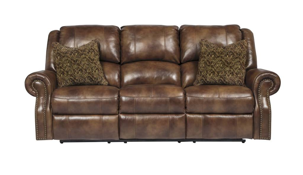 Signature Design Walworth, Reclining Power Sofa, Auburn U7800187