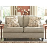 "Signature Design Loveseat- ""Almanza"" Wheat 3080335"
