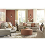 "Signature Design Swivel Glider Accent Chair- ""Almanza"" Cinnamon 3080342"