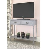 "Signature Design Console Sofa Table- ""Goverton"" Gray A4000179"