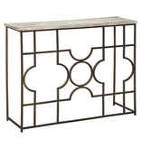 Signature Design Console Sofa Table, Raelsen, Gold Finish, A4000198