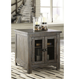 Signature Design Danell Ridge Rectangular End Table- Brown- T446-3