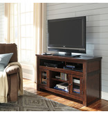 "Signature Design ""Harpan"" Medium TV Stand ""Reddish Brown"" Clolor, W797-28"