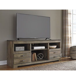 Signature Design LG TV STAND W/FIREPLACE OPTION- W446-68, Trinell