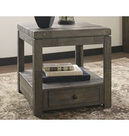Signature Design Rectangular End Table- Daybrook- Grayish Brown T884-3