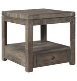 Signature Design Rectangular End Table- Daybrook- Grayish Brown T884-3