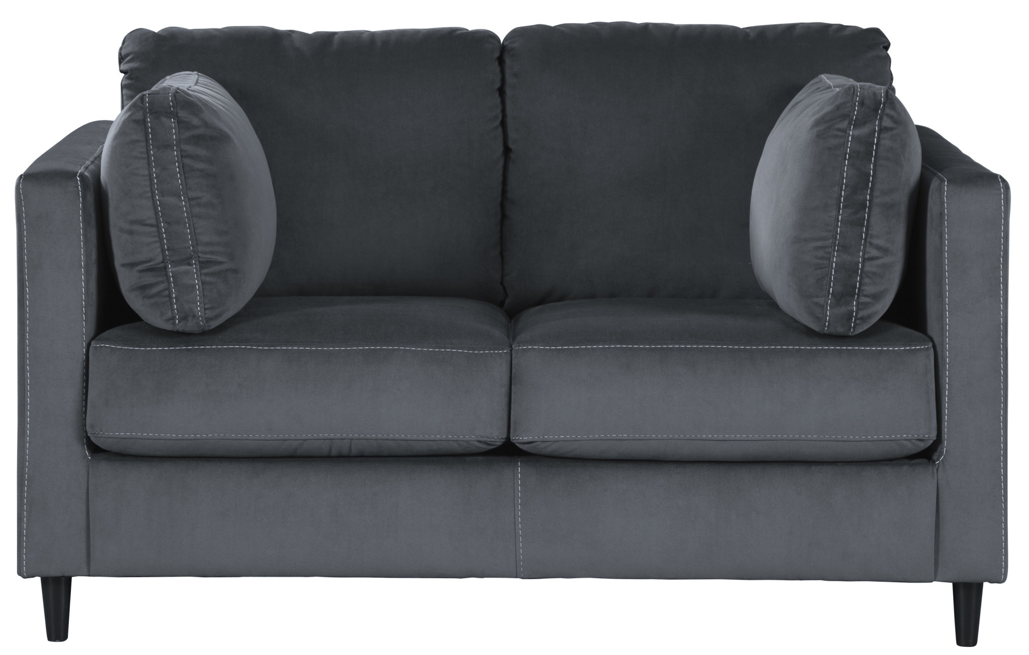 "Signature Design ""Kennewick"" Loveseat- Shadow Color 1980335"