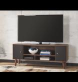 """Signature Design B292-39 """"Daneston"""" Media Chest/ TV Cabinet- Brown/Graphite"""