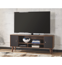 "Signature Design B292-39 ""Daneston"" Media Chest/ TV Cabinet- Brown/Graphite"