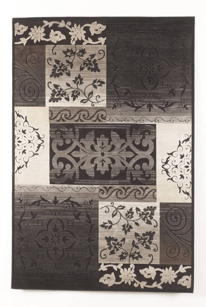 "Signature Design Wexford, Medium Area Rug 62""X86"", Black, R321002"