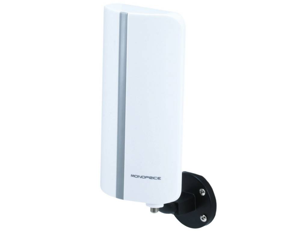 HDTV Indoor / Outdoor Antenna, 25 mile range