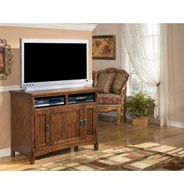 Signature Design Cross Island TV Stand - Medium Brown, W319-18