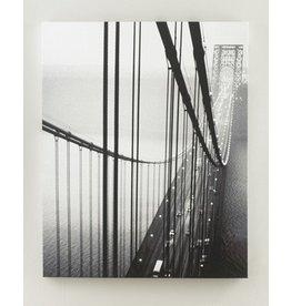 Signature Design Akello Wall Art - Black/White, A8000037 Bridge