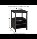 Signature Design Airdon- Chariside End Table- Bronze T394-7