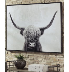 "Signature Design A8000258 ""Poncho"" Wall Art 48""W x 2""D x 36""H"