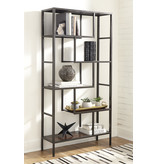 "Signature Design Bookcase ""Frankwell"" Brown/Black A4000021"